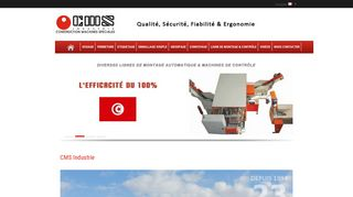 CMS INDUSTRIE Ween.tn