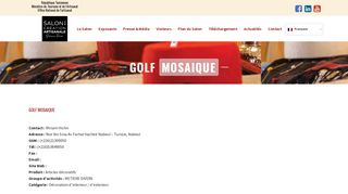 GOLF MOSAIQUE Ween.tn